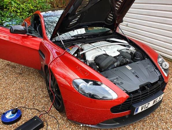 Aston Martin V12 Vantage Remap